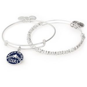 BN Alex and ani bracelet set